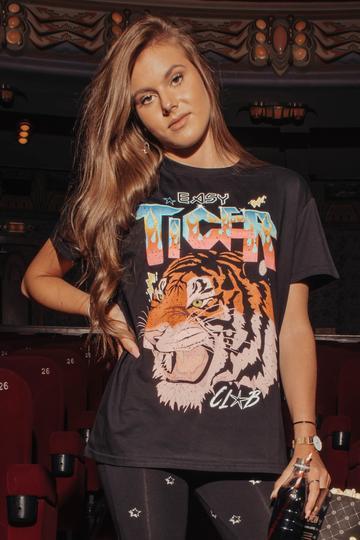 EASY TIGER CLUB NINA LOOSEFIT TEE