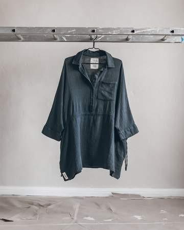 THE DARK SHIRT DRESS