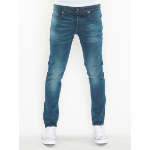 3301 SLIM-BELN STRETCH DENIM-MEDIUM AGED