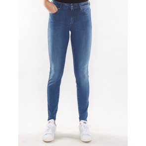 G-STAR SHAPE HIGH SUPER SKINNY-LEGEND ULTIMATE STRETCH DENIM-MEDIUM AGED