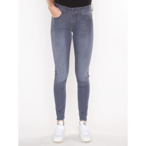 LYNN D-MID SUPER SKINNY-RENDER GREY ULTIMATE STRETCH DENIM-MEDIUM AGED