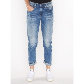 ARC 3D MID BOYFRIEND NEW-11 OZ SENA DENIM-MEDIUM AGED RESTORED 86