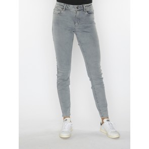 G-STAR SHAPE HIGH SUPER SKINNY-RENDER GREY ULTIMATE STRETCH DENIM-LT BLUE AGED