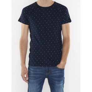 REGULAR FITTED INDIGO TEE 144228