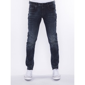 3301 SLIM-SLANDER 12 OZ STRETCH DENIM-DK AGED