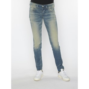 LYNN MID SKINNY-CYCLO STRETCH DENIM-LT AGED