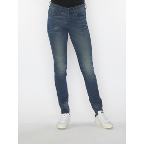 3301 HIGH SKINNY-FRAKTO SUPERSTRETCH-MEDIUM AGED