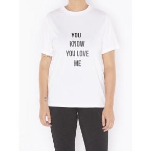 LOVE ME TEE W813103