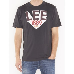 RETRO LEE T FADED BLACK-L63UAIKD