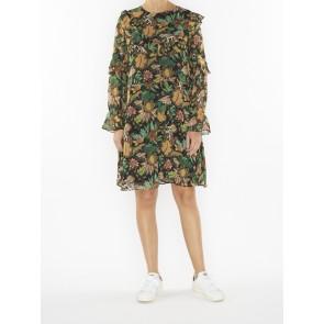 PRINTED DRAPEY DRESS 148426