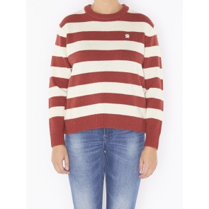 DOOLIN STRIPE R KNIT L/S D10772-A758-624