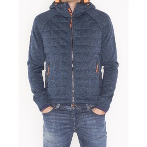 M20011AR STORM QUILTED ZIPHOOD