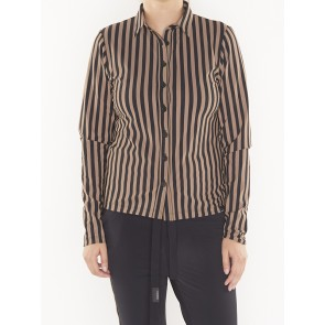 W18N332 BLOUSE STRIPE