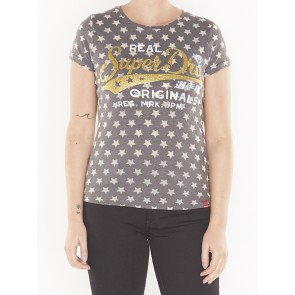 G10401AR BURN OUT STAR AOP ENTRY TEE