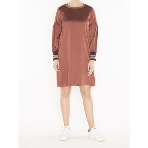 DRESS WITH VOLUMINOUS SLEEVES 146619