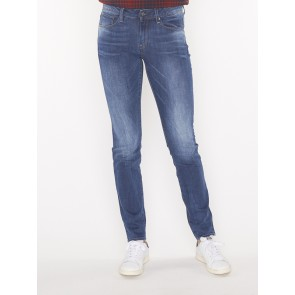 3301 HIGH SKINNY-YZZI STRETCH DENIM-MEDIUM AGED
