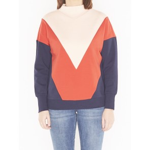 COLOR BLOCK SWEAT 147750