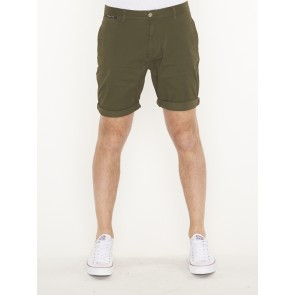 classic cotton/elastane chino shorts -148906