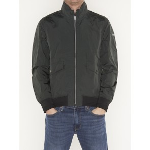 classic short jacket in nylon quality-148701