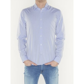 REGULAR FIT- chic yarn-dye shirt