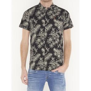 REGULAR FIT- all-over printed short sleeve shirt- 148930