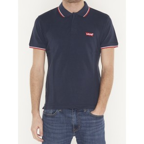 SS MODERN HM POLO HM PATCH DRESS BLUES W