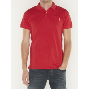 BLAUW GARMENT DYED POLO- 150553