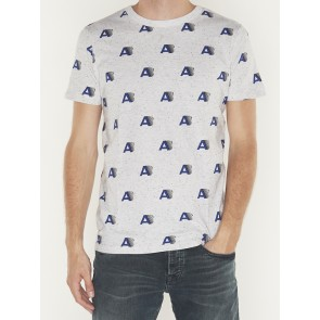S/S TEE ALLOVER PRINT - 151282