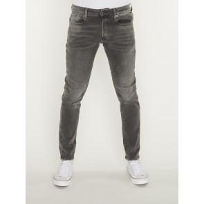 3301 SLIM-NERO BLACK STRETCH DENIM-ANTIC CHARCOAL