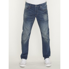 3301 STRAIGHT-JOANE STRETCH DENIM-WORKER BLUE FADED