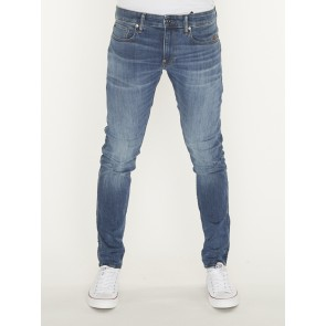 REVEND SKINNY-ELTO SUPERSTRETCH-MEDIUM INDIGO AGED
