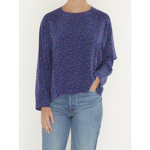 MIRANDA TOP-FUN LEOPARD SODALITE BLUE