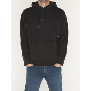 RELAXED GRAPHIC HOODIE-BABYTAB TECH MINERAL BLACK