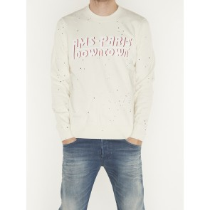 WASHED CREWNECK SWEAT-152240