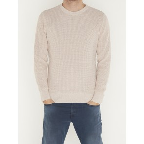 STRUCTED CREWNECK PULL- 152400-0171