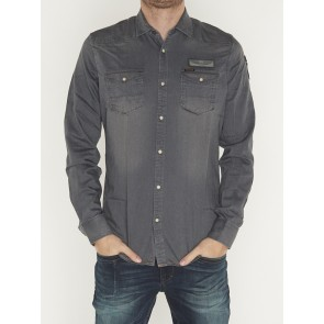 LONG SLEEVE SHIRT DENIM PSI195238