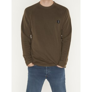 CLASSIC RAGLAN SWEAT OAK GREEN