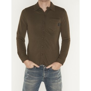 CLASSIA TERRY SHIRT  OAK GREEN