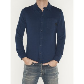 CLASSIC TERRY SHIRT  DARK SEA BLUE