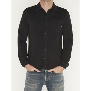 CLASSIC TERRY SHIRT OFF BLACK