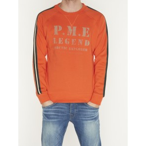 CREWNECK WASHED TERRY-PSW197430