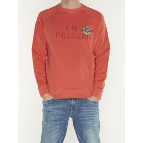 CREWNECK WASHED TERRY PSW198446 3089