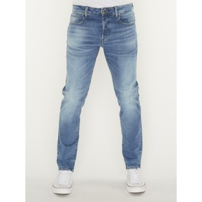 3301 SLIM-AZURE STRETCH DENIM-AUTHENTIC FADED BLUE