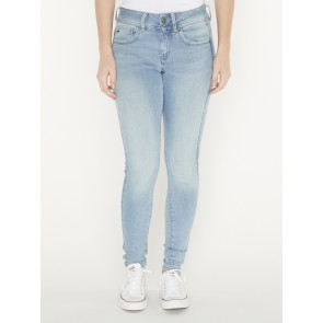 LYNN MID SUPER SKINNY-TRENDER ULTIMATE STRETCH DENIM-SUN FADED BLUE