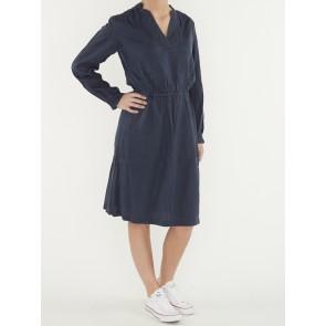 OGEE STRAIGHT FLARE DRESS