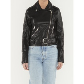 AMANDA FRIDGE BIKER JACKET