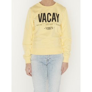 VACAY VIBES BASIC FIT SWEATER