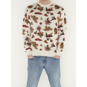 ALL-OVER PRINTED SWEAT-155283