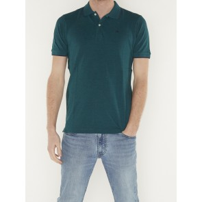CLASSIC POLO IN MELANGE PIQUE QUALITY 155459