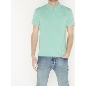 GARMENT-DYED STRETCH PIQUE POLO 155461